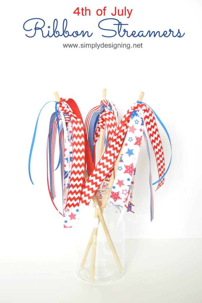 Ribbon Streamers - Simply Designing