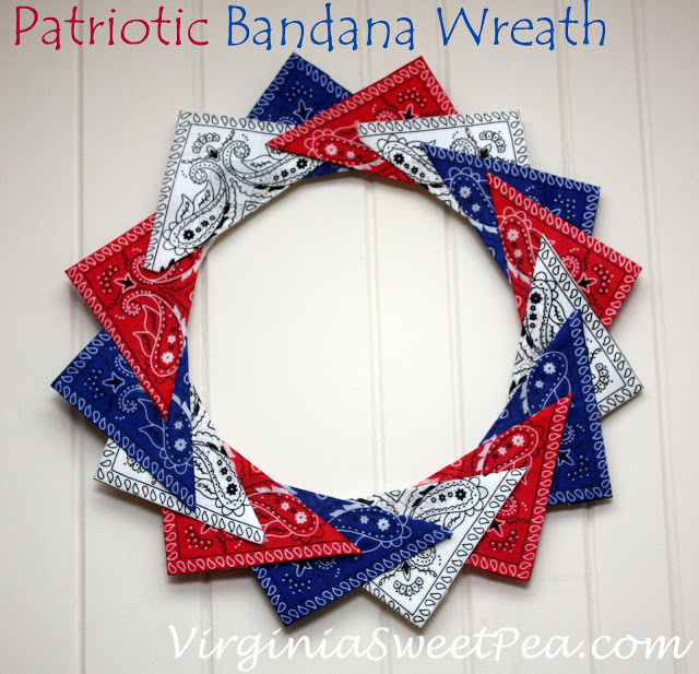 Bandana Wreath - Sweet Pea