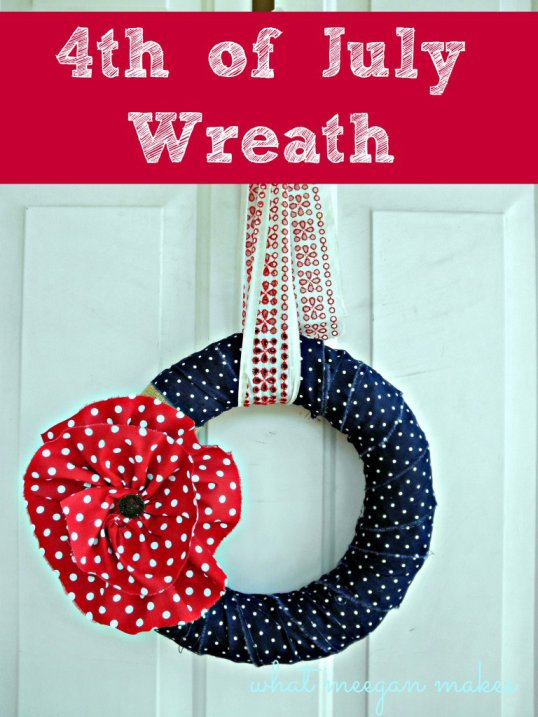 4th of July Wreath - What Meegan Makes
