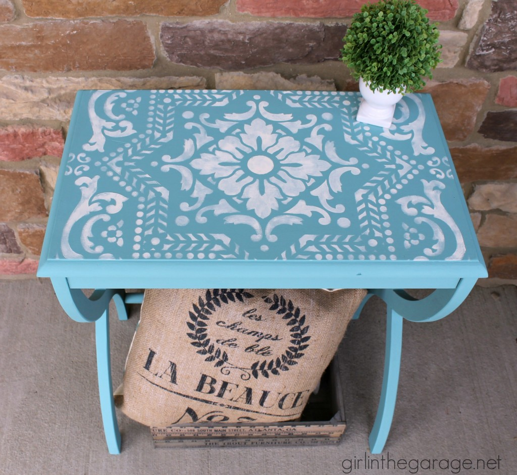 Favorite DIY Products - Lisboa Tile Stencil from Royal Design Studio