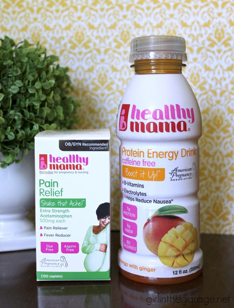 Tips for staying healthy and keeping your sanity during pregnancy.  girlinthegarage.net  #gethealthymama #pmedia #ad