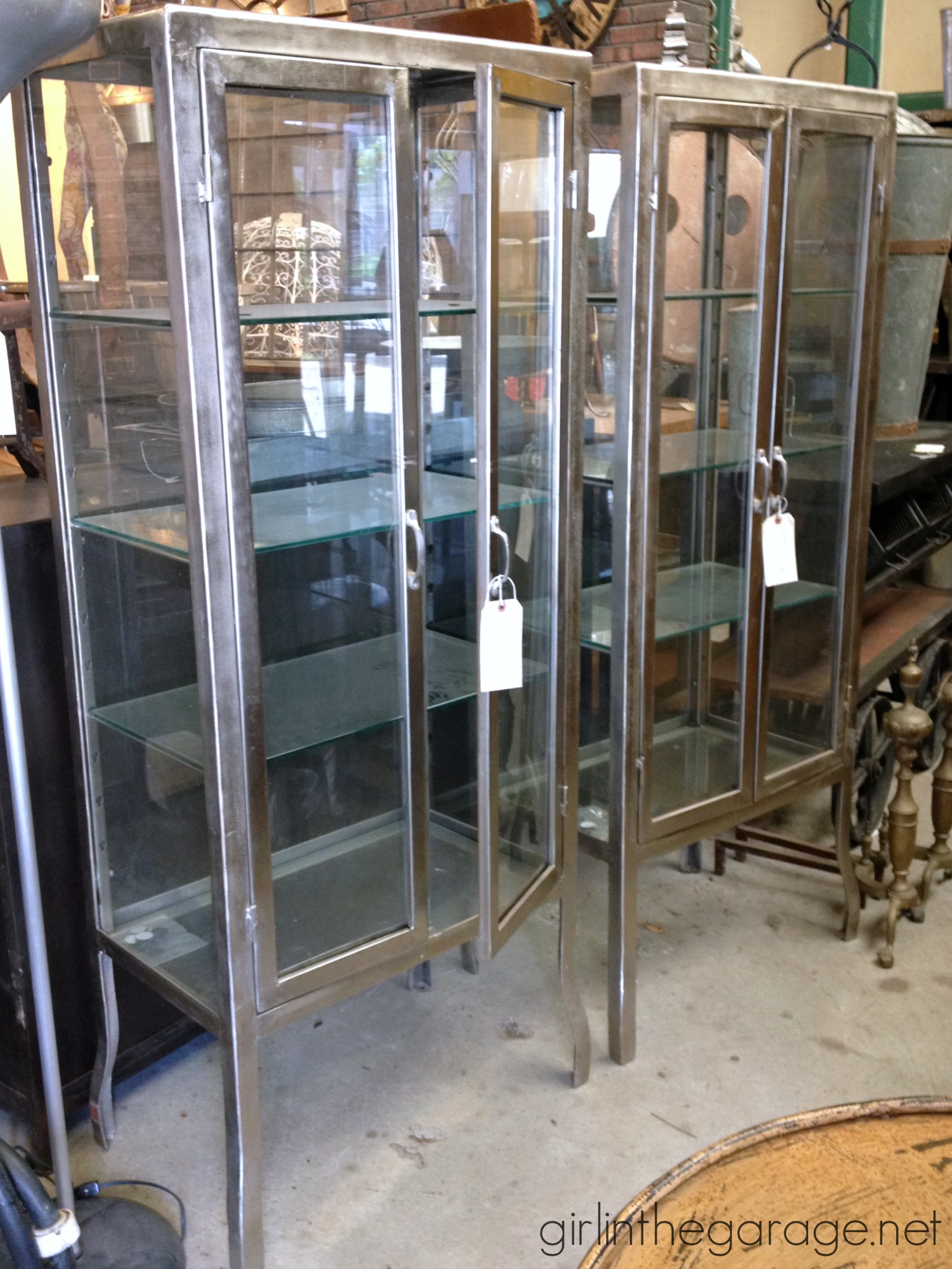 of shelved metalage doors cupboard with lowes metal about glass cabinet sliding enchanting