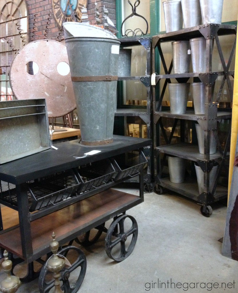 Treasure Hunting: A look at the antique and vintage treasures at Midland Arts and Antiques in Indianapolis.  girlinthegarage.net