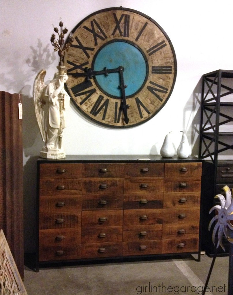 Treasure hunting midland arts and antiques girl in the - Decor house furniture ...
