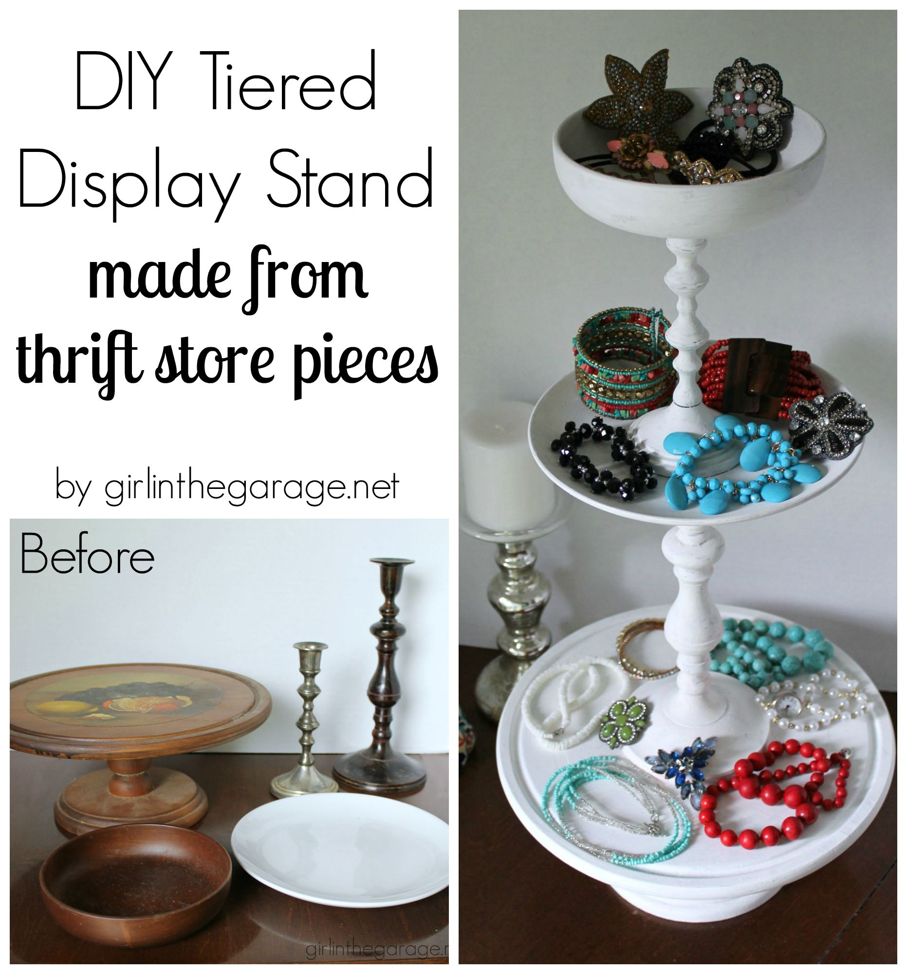 diy-tiered-display-stand-collage  sc 1 st  Girl in the Garage & diy-tiered-display-stand-collage | Girl in the Garage®