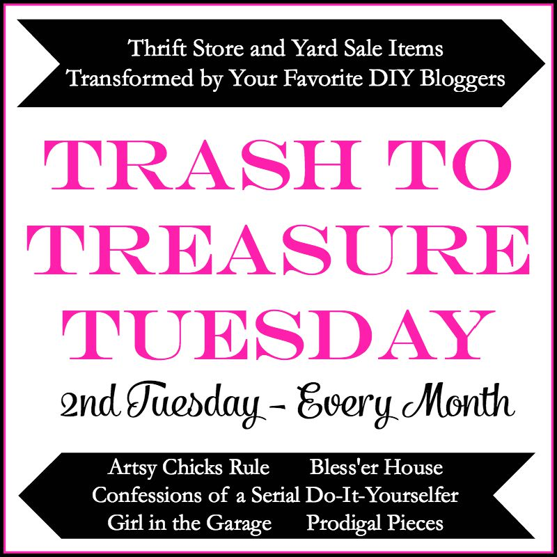 Trash to Treasure Tuesday - Girl in the Garage