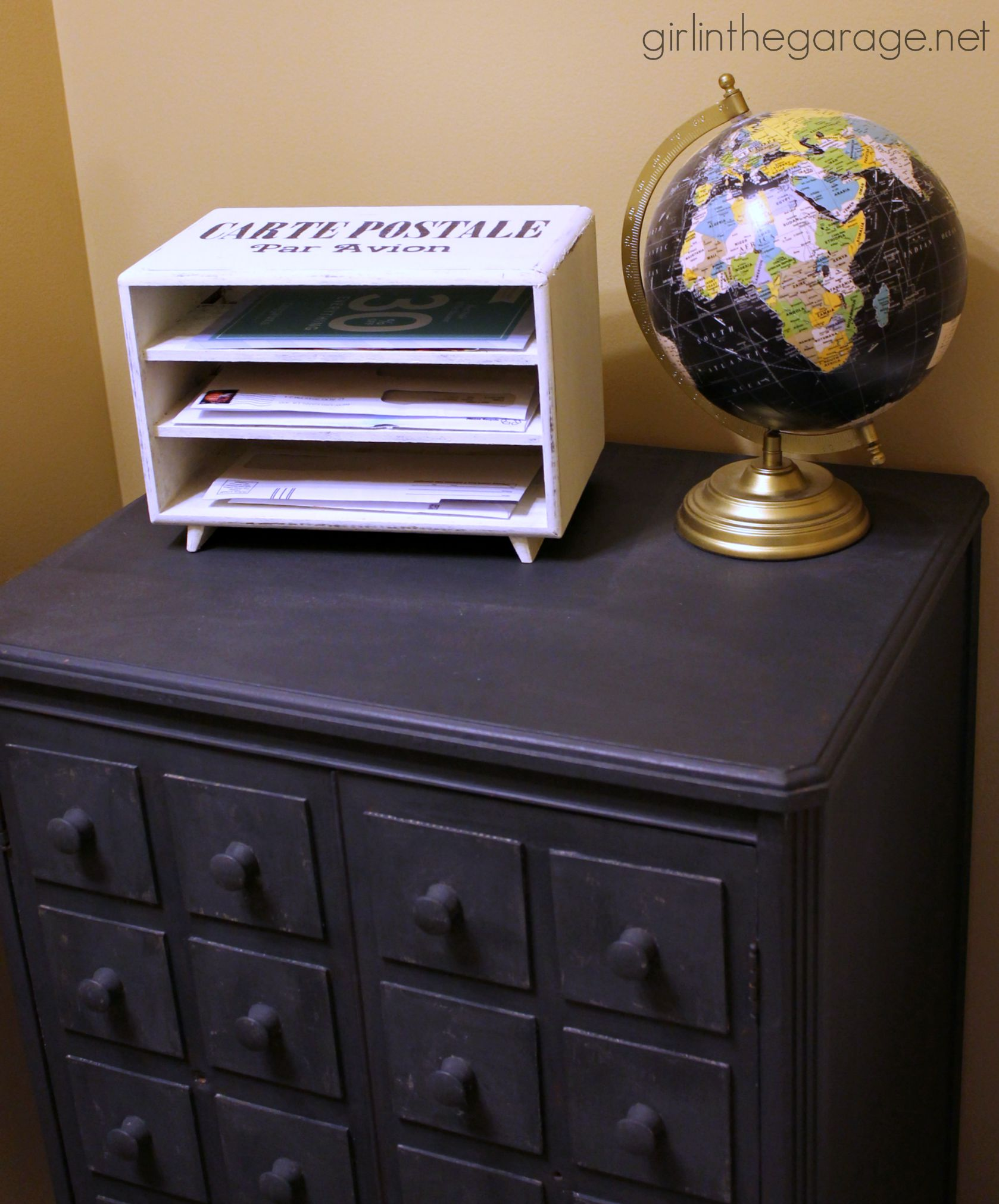 Trash To Treasure Ideas Home Decor Part - 44: How To Turn An Old Jewelry Box Into A Mail Organizer Station - Trash To  Treasure ...