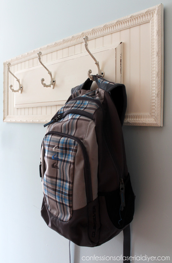 Curbside Drawer to Wall Organizer - by Confessions of a Serial DIYer