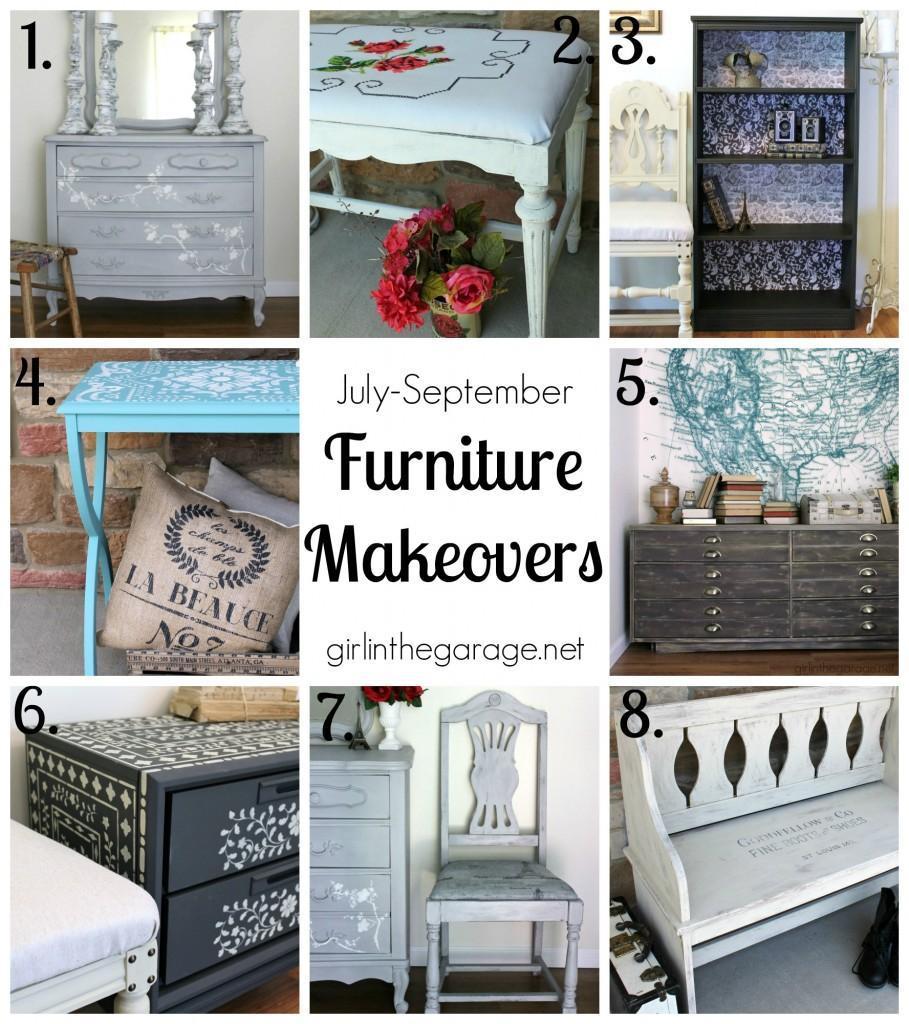 Popular Furniture Makeovers - girlinthegarage.net