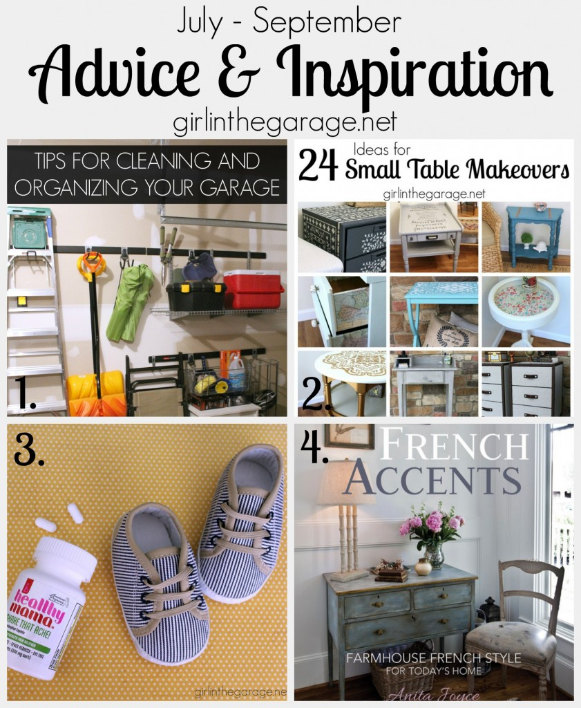 Advice and Inspiration from girlinthegarage.net