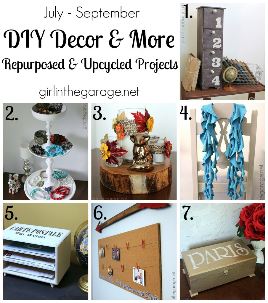 DIY Decor Projects and More - girlinthegarage.net