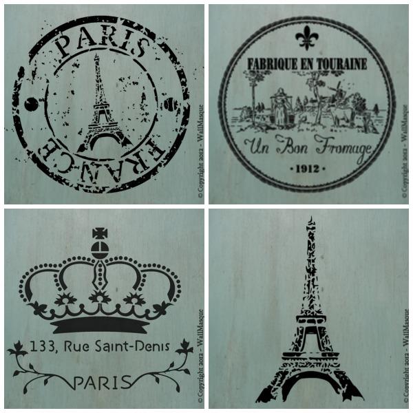 WallMasque-stencil-collage
