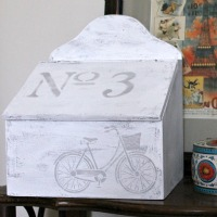 Upcycled Santa Box – Trash to Treasure