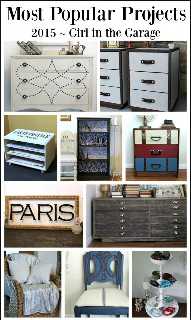 Most Popular DIY Projects of 2015 - By Girl in the Garage