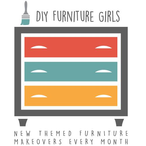 DIY Furniture Girls - Themed Furniture Makeover Day