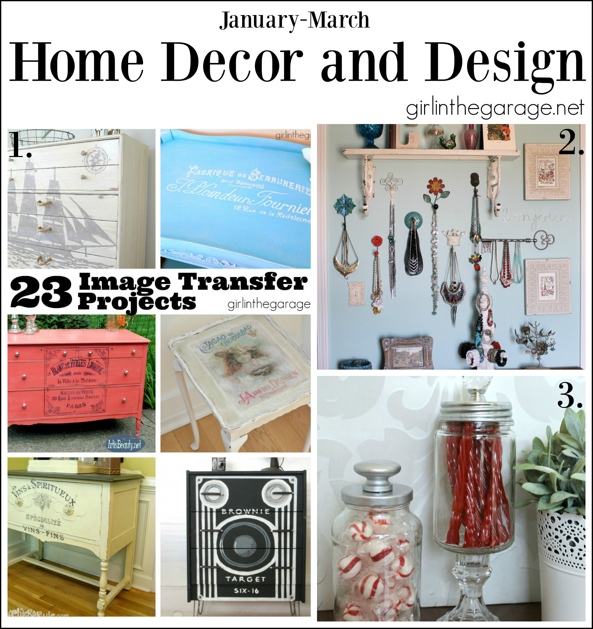 Home Decor and Design Posts - Girl in the Garage