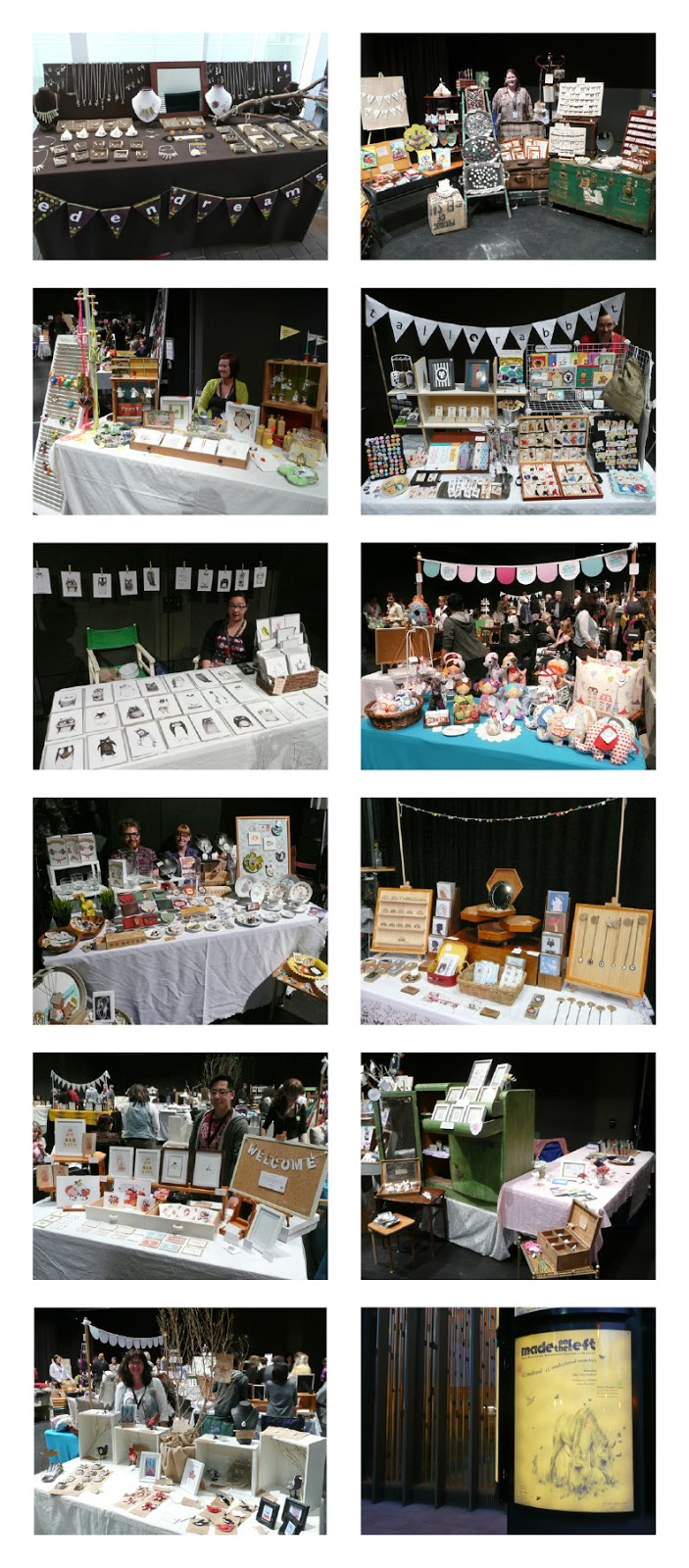 Vintage Market or Craft Fair Display Ideas (Made on the Left)