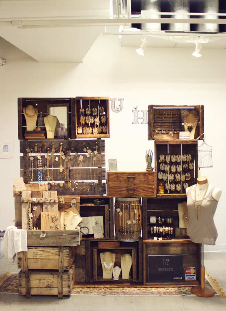Vintage Market or Craft Fair Display Idea