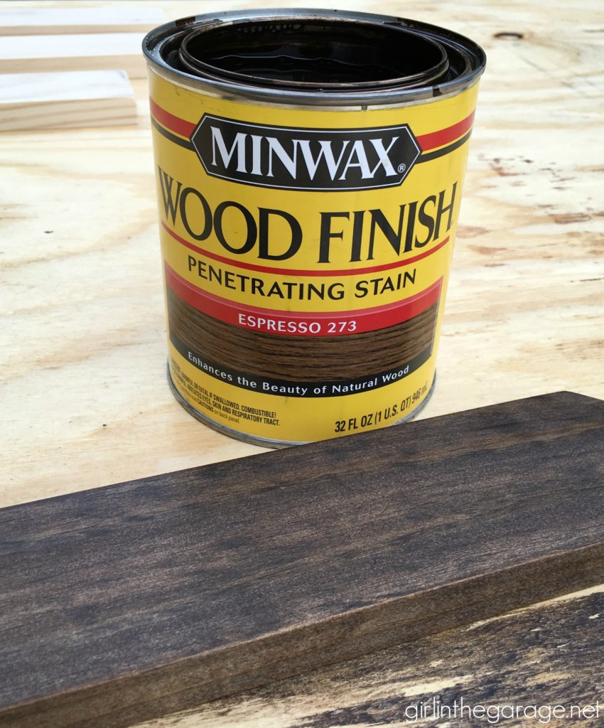 Favorite DIY Products - Minwax Wood Stain