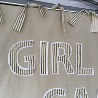 DIY Fabric Backdrop Sign