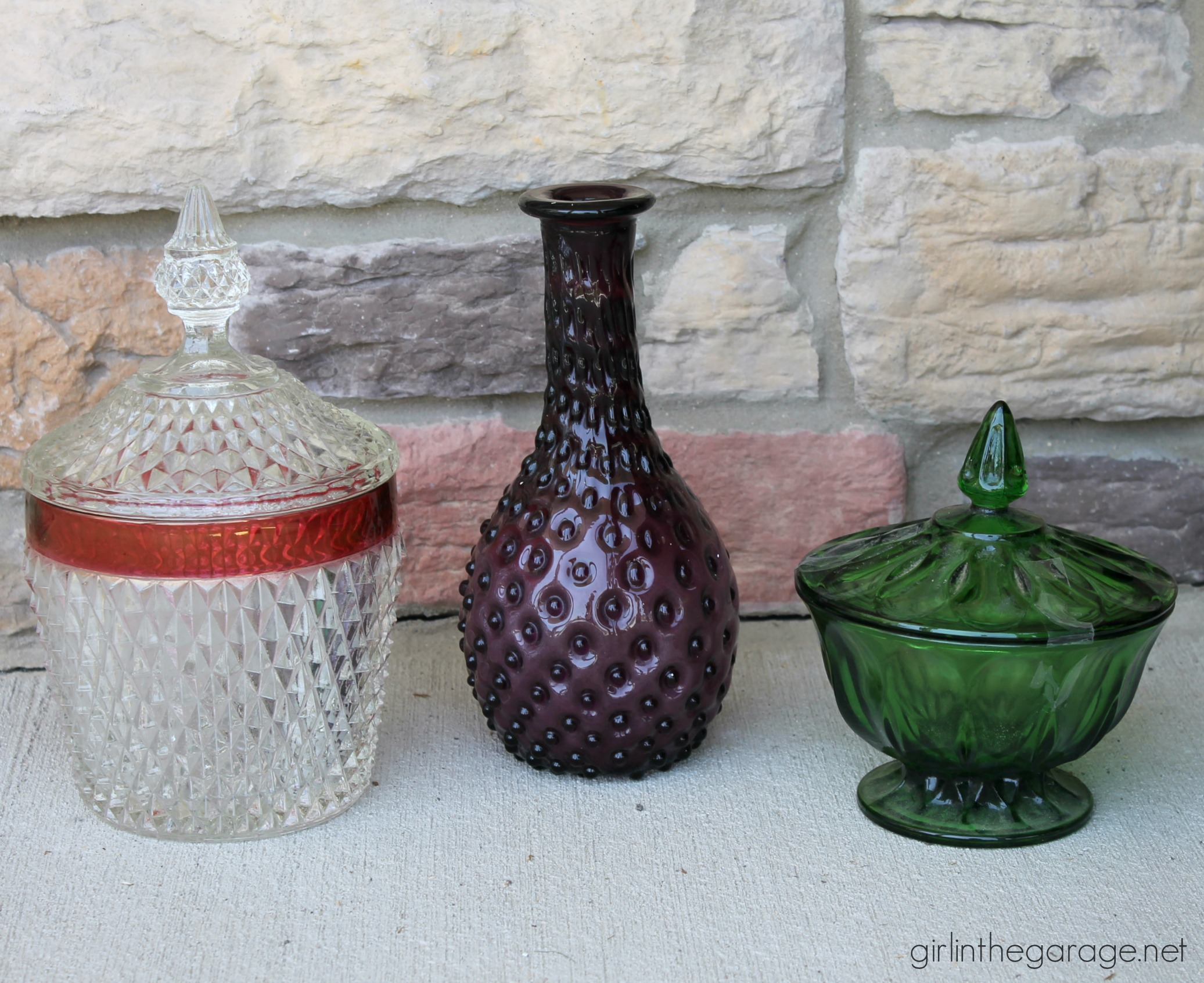 Treasure Hunting 18: Recent yard sale and thrifted finds -by Girl in the Garage