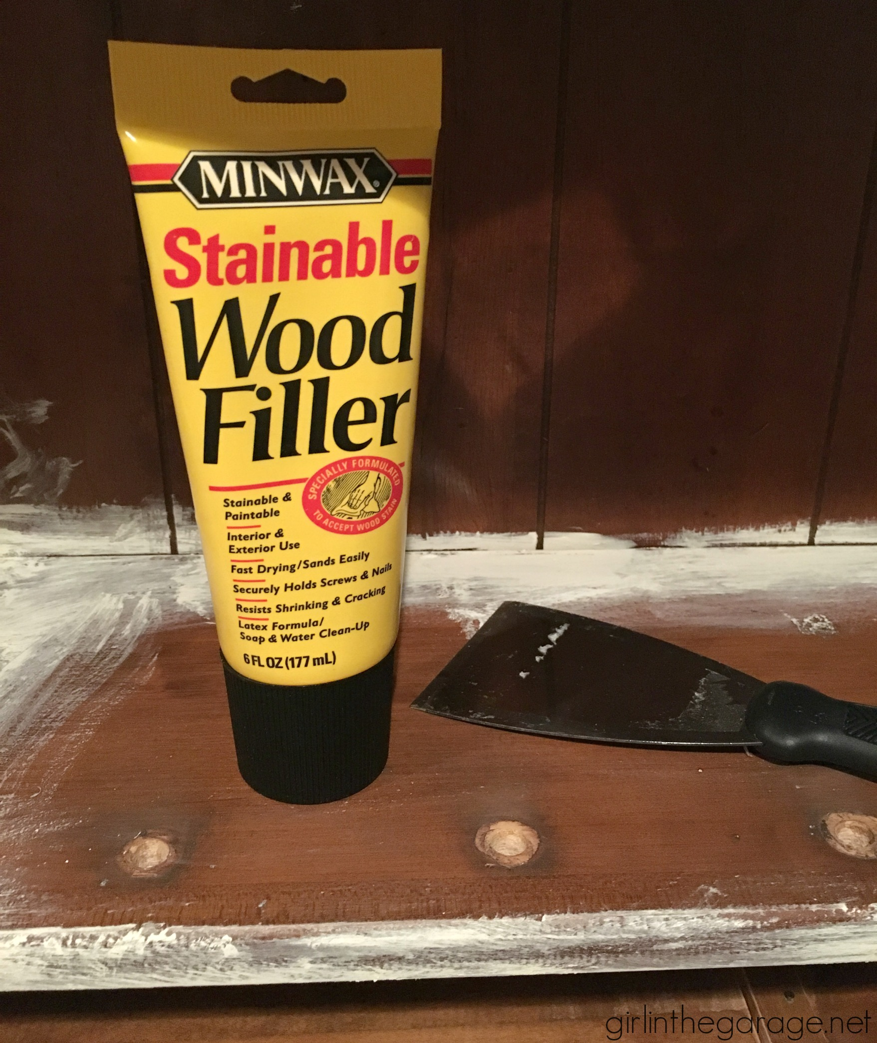Img 3863 Minwax Stainable Wood Filler