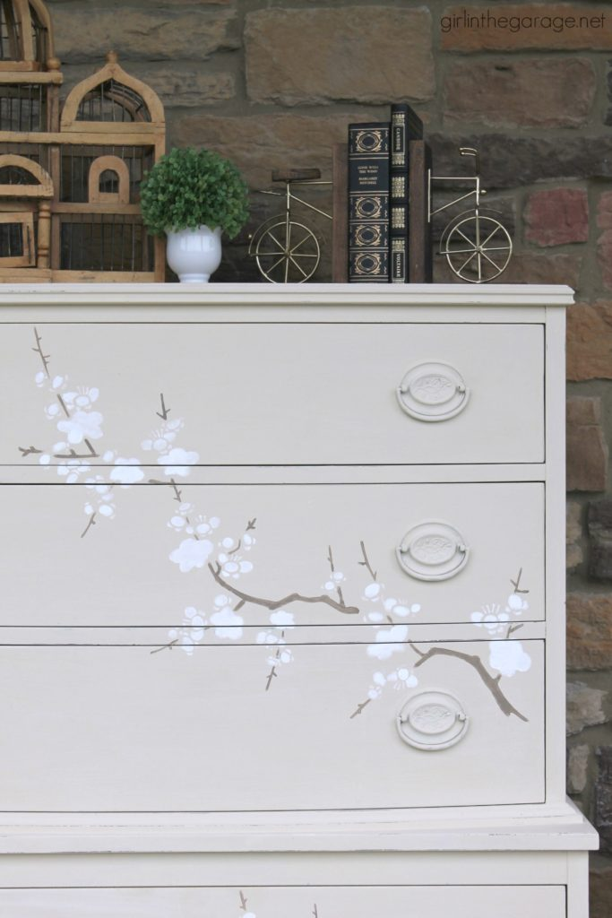 Favorite DIY Products - Cherry Blossom Stencil from Royal Design Studio