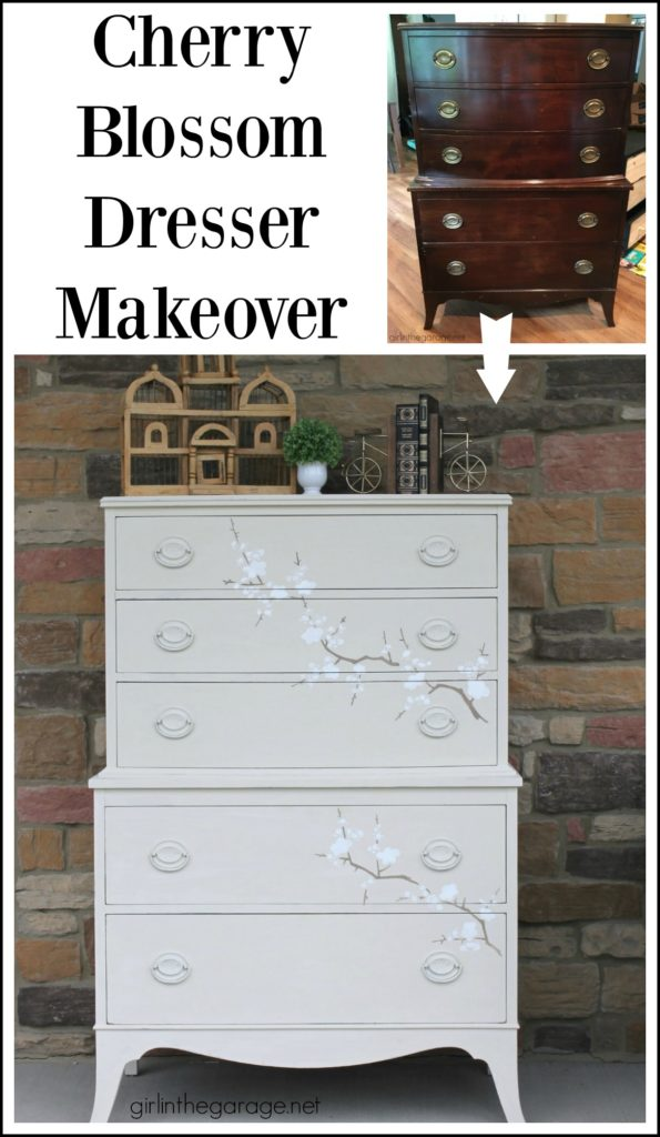 How to Chalk Paint Furniture: Ultimate Beginner's Guide to Chalk Painting - DIY Furniture Makeover Ideas by Girl in the Garage