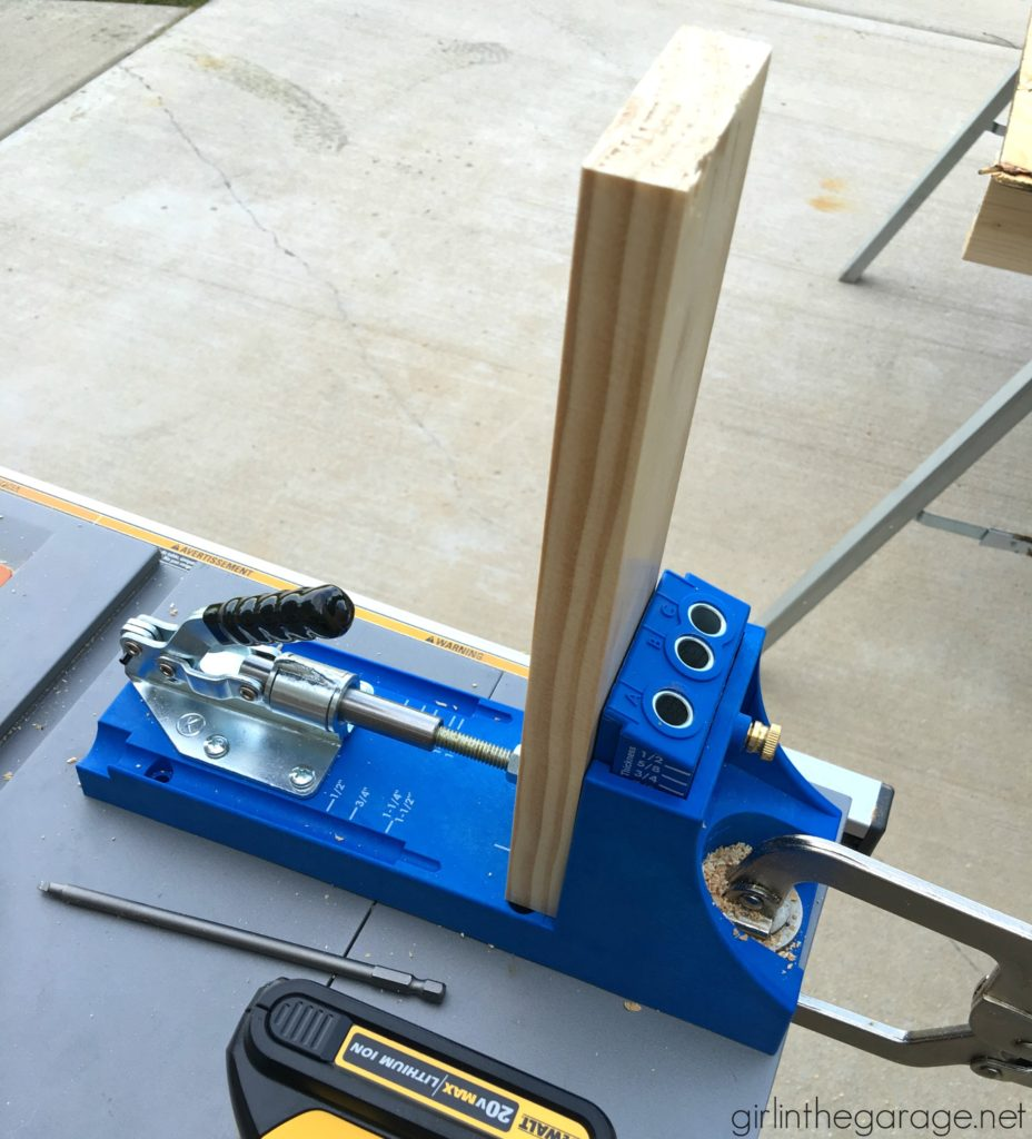 Favorite DIY Products - Kreg Jig Pocket Hole System