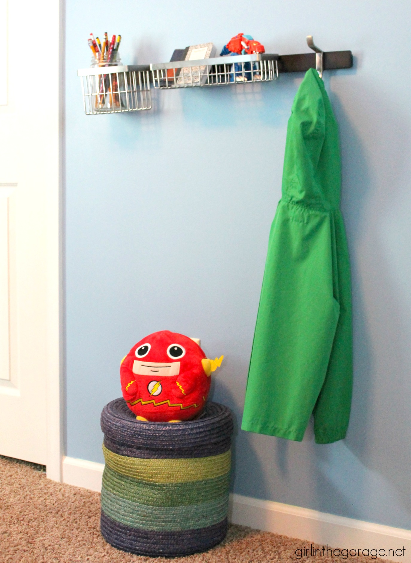 Boy's bedoom updates and corralling clutter - Girl in the Garage