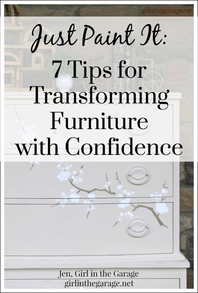 Just Paint It: 7 Tips for Transforming Furniture with Confidence