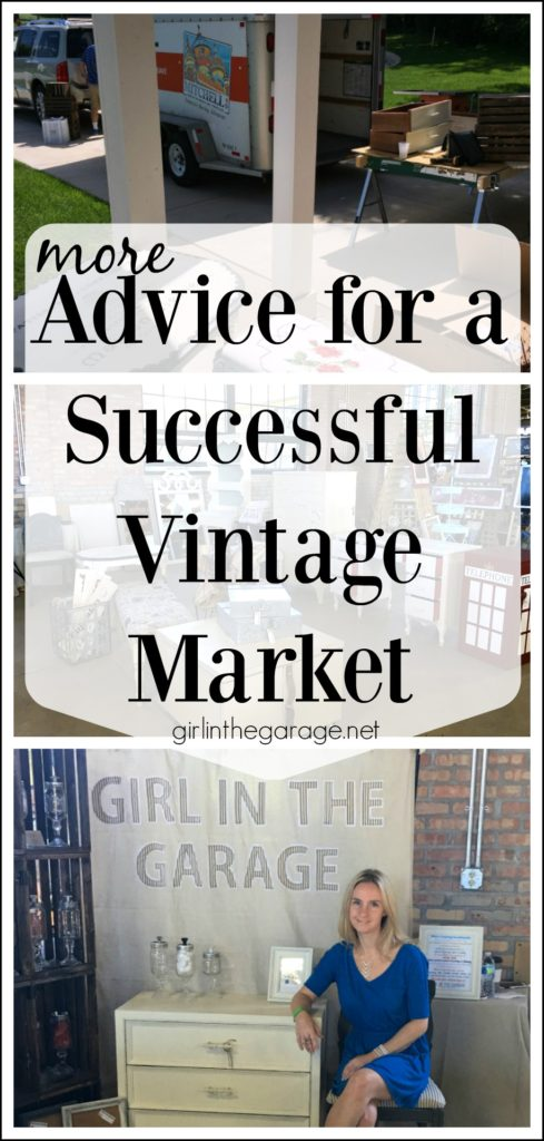 Advice for a successful vintage market - Girl in the Garage