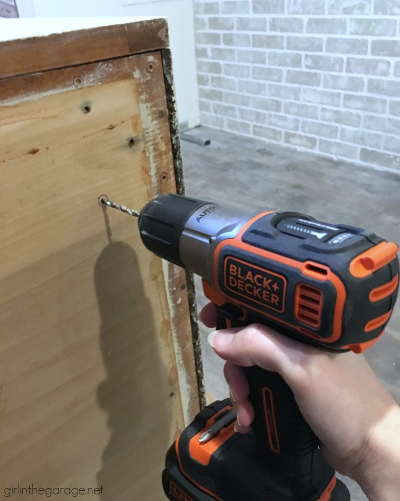 Favorite DIY Products - Black and Decker Drill/Driver