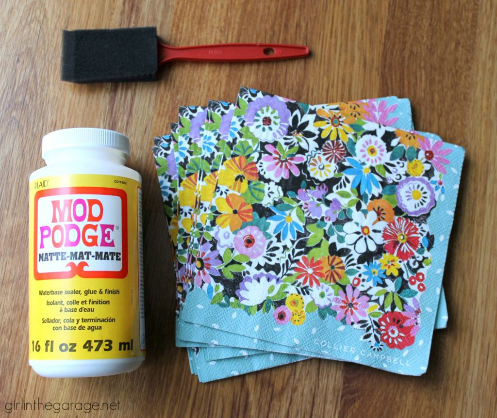 Favorite DIY Products - Mod Podge