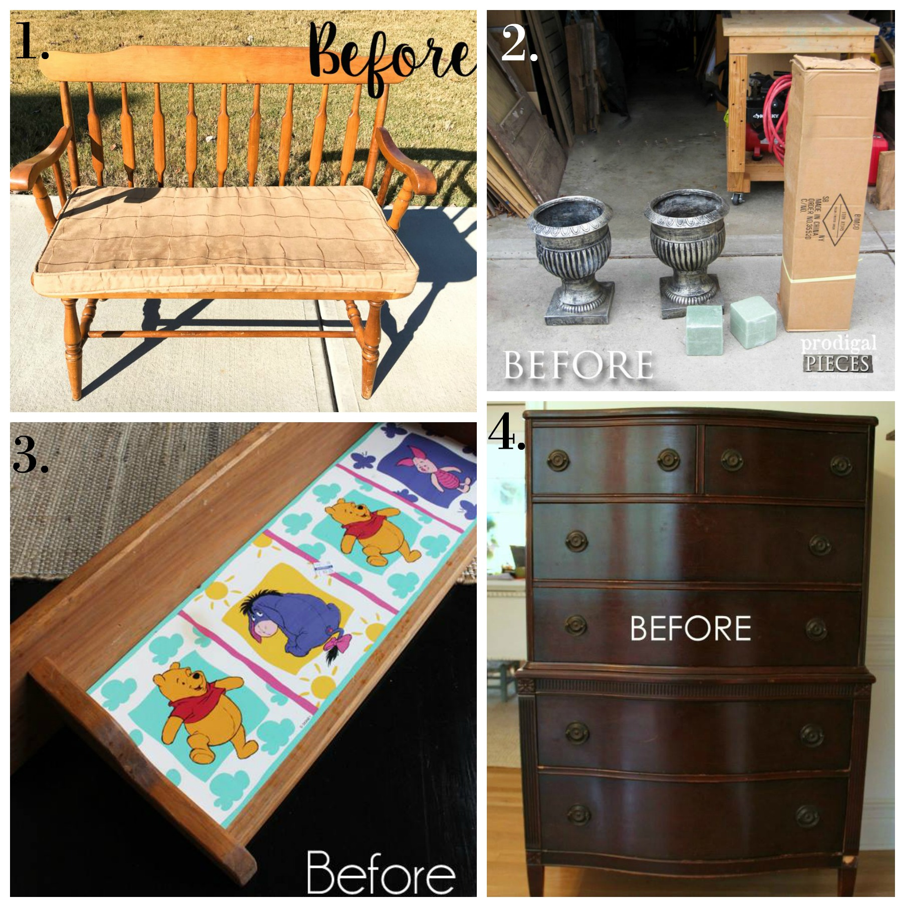 Trash to Treasure Makeovers