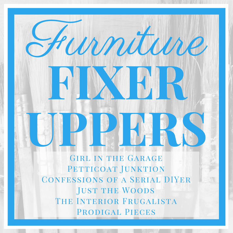 Furniture Fixer Uppers - Girl in the Garage