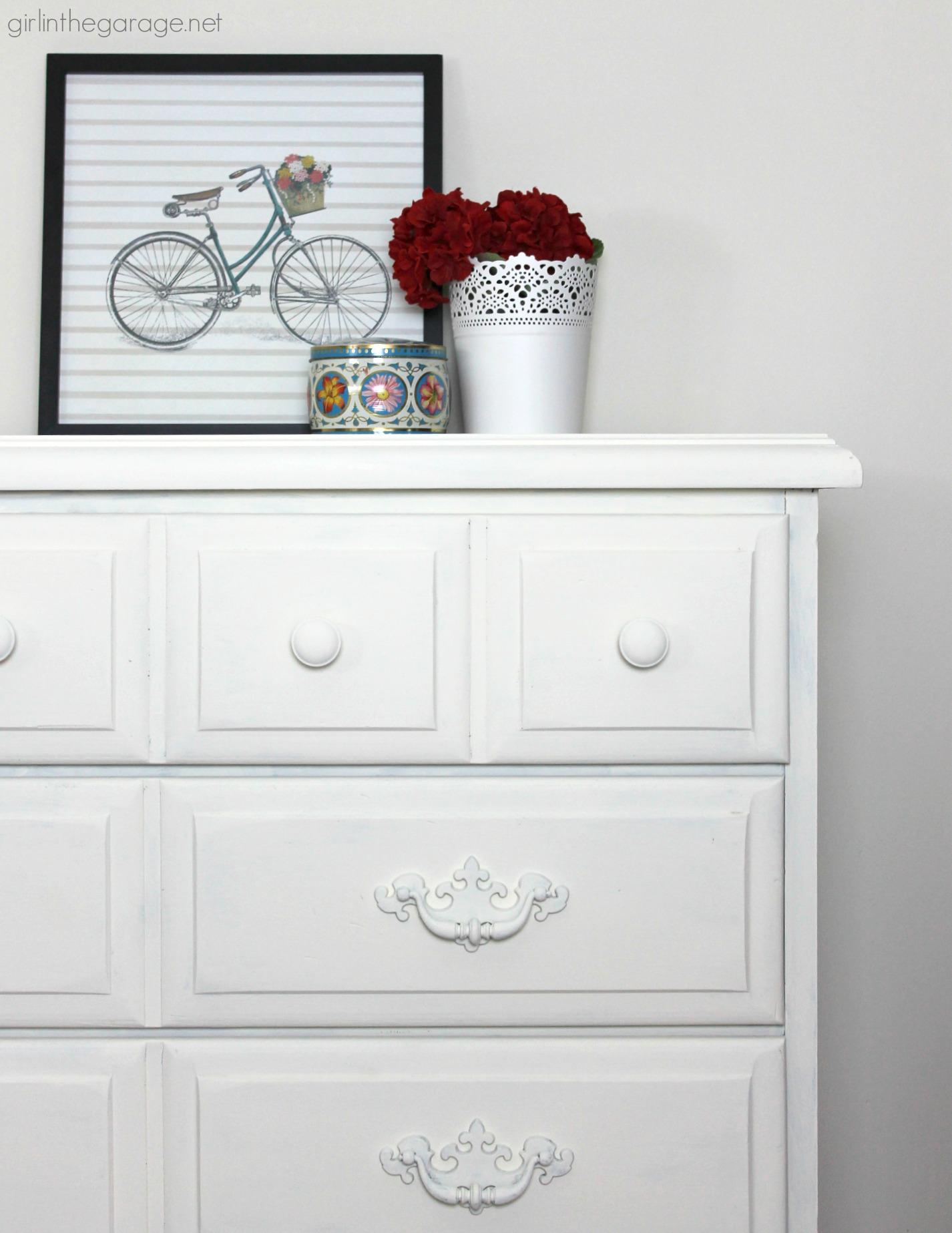 Img 7129 Old White Chalk Paint Dresser
