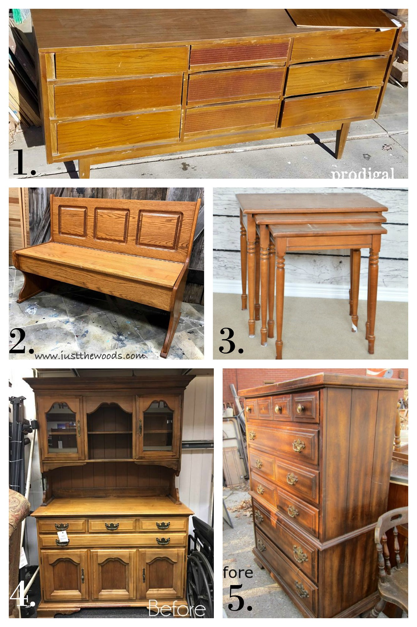 Furniture Fixer Uppers - Feb 2017