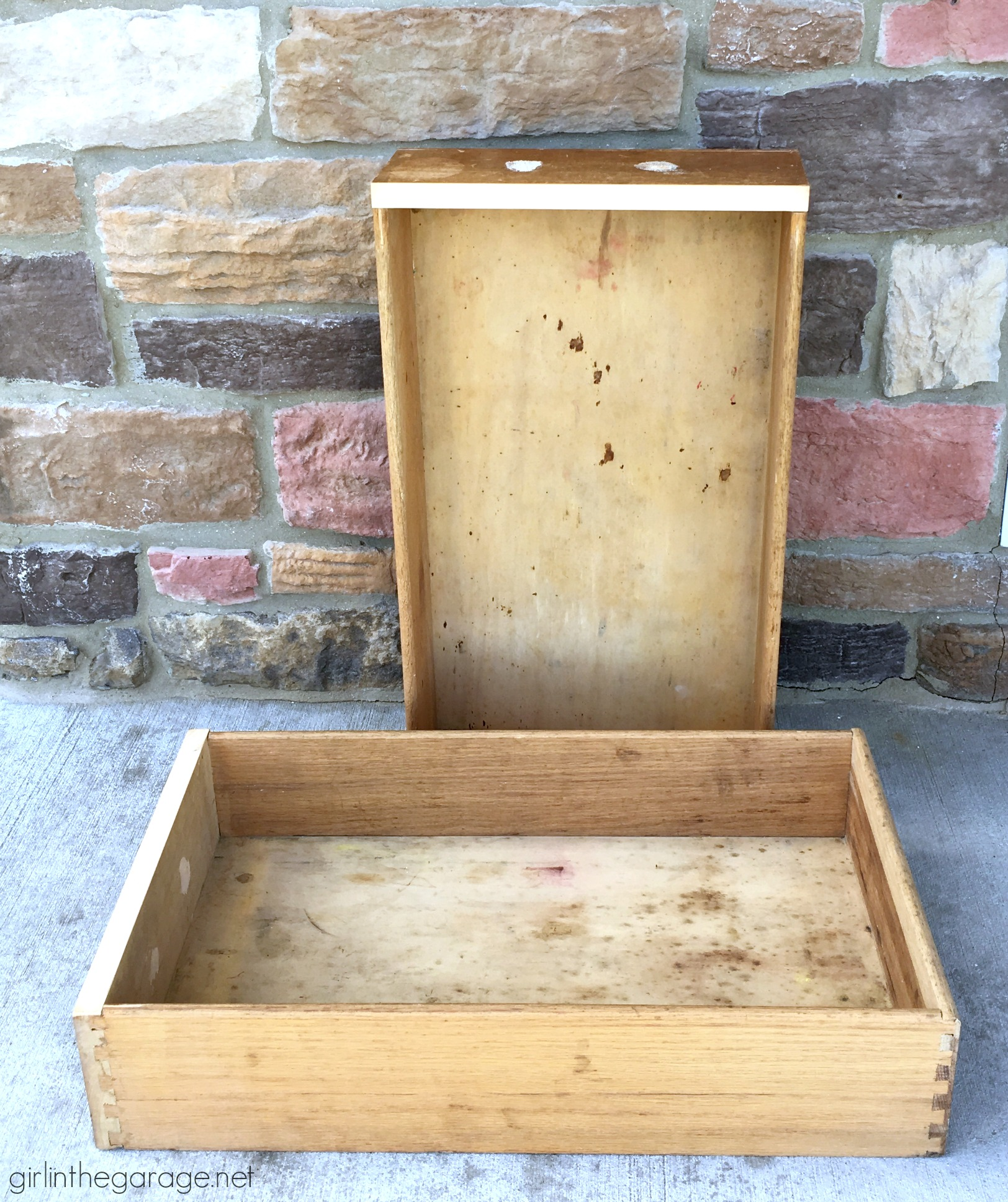 Creative upcycled drawer ideas - Girl in the Garage