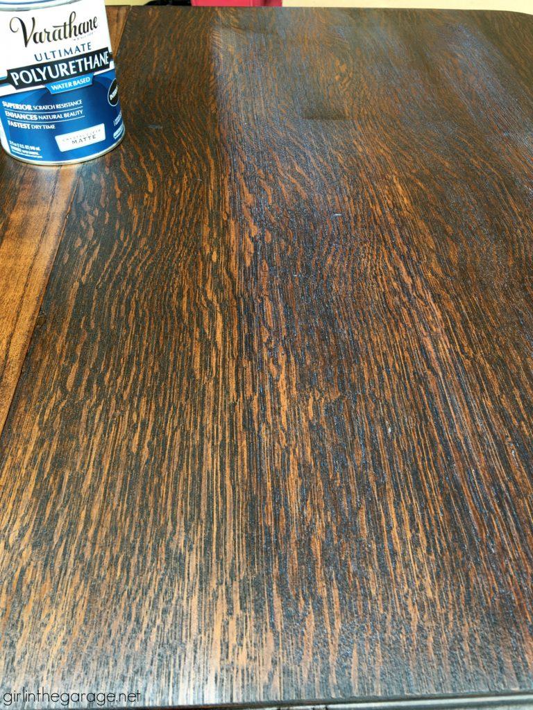 Favorite DIY Products - Rustoleum Varathane Polyurethane