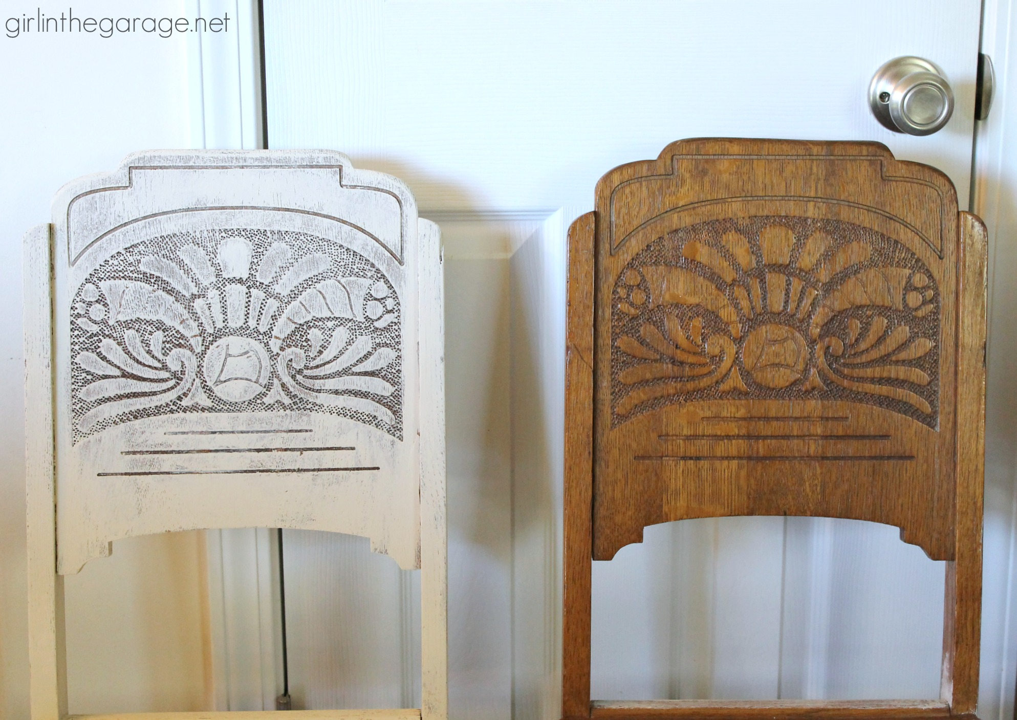 Diy Antique Carved Dining Set Makeover With Stained Top And Annie Sloan Chalk Paint In A