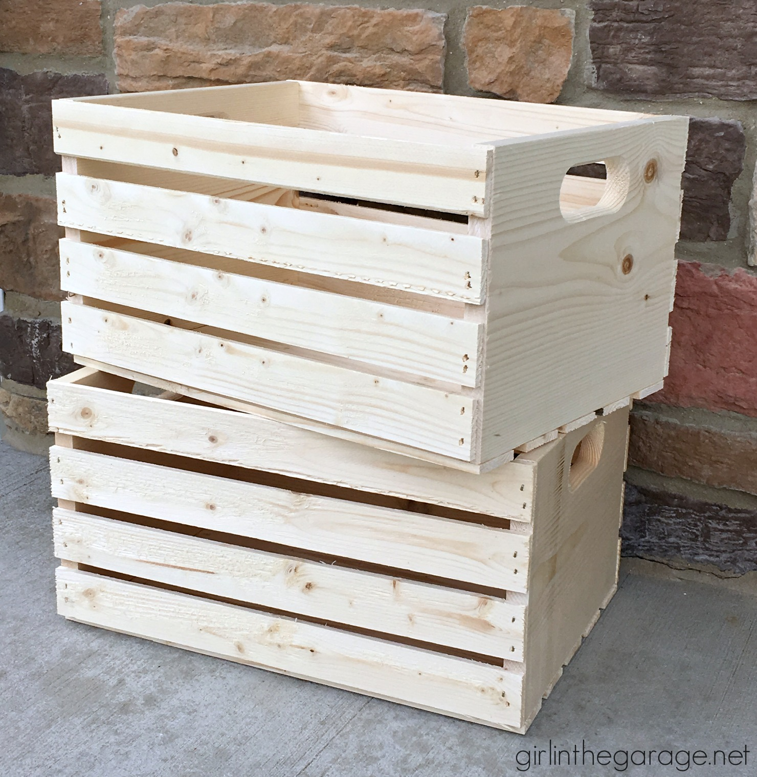 Decoupage Crates, Framed Cork Boards, and Drawer Shelves | Girl in ...