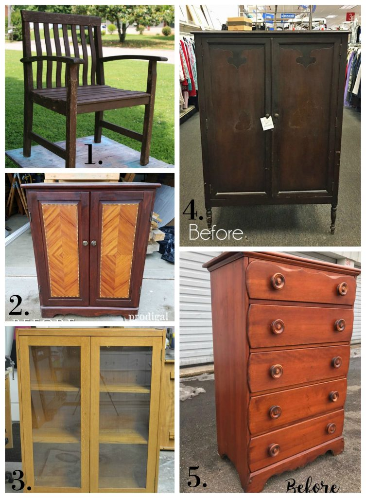 Furniture Fixer Uppers - May 2017
