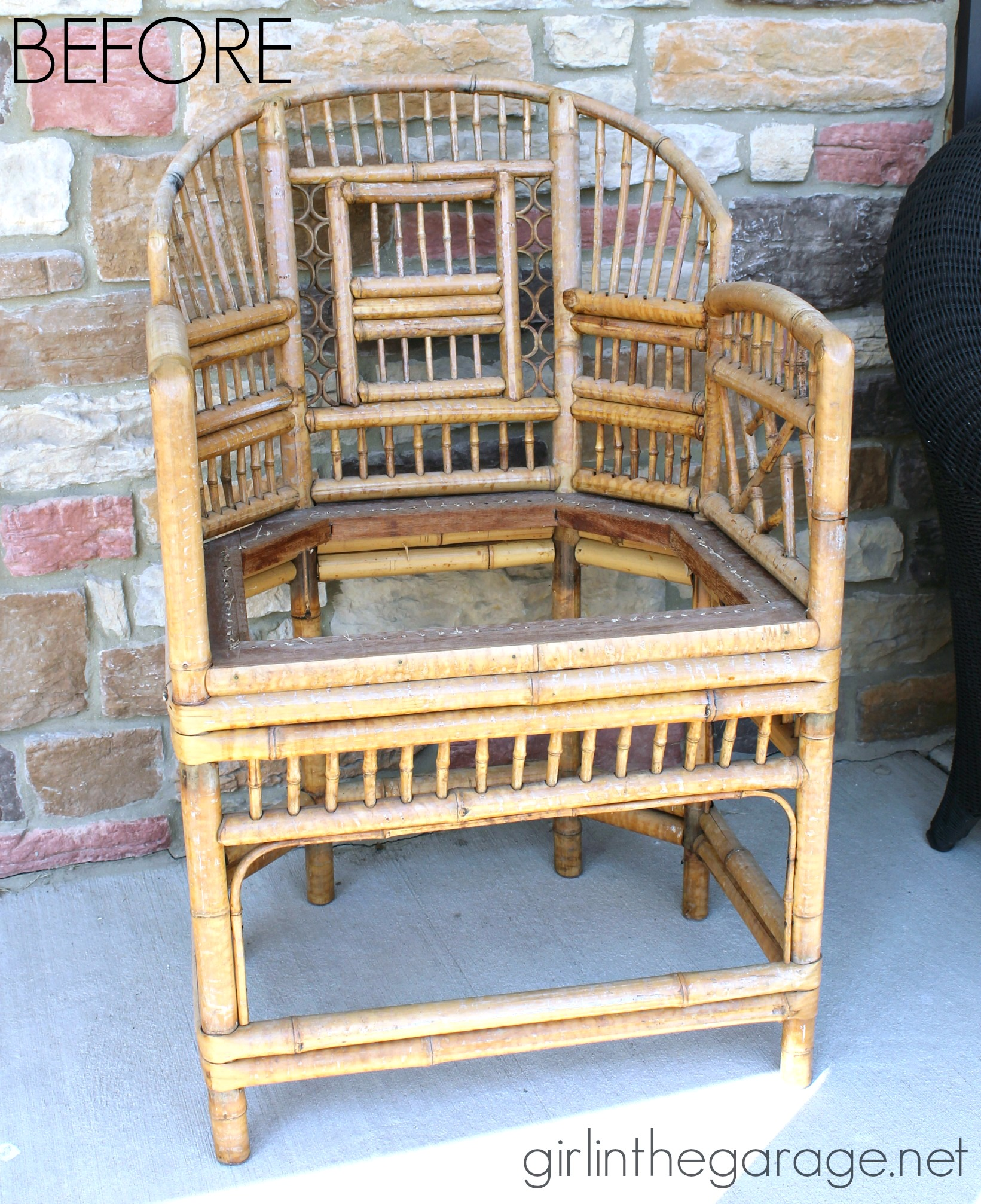 The Bamboo Chair How to Make a New Seat