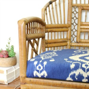 The Bamboo Chair + How to Make a New Seat
