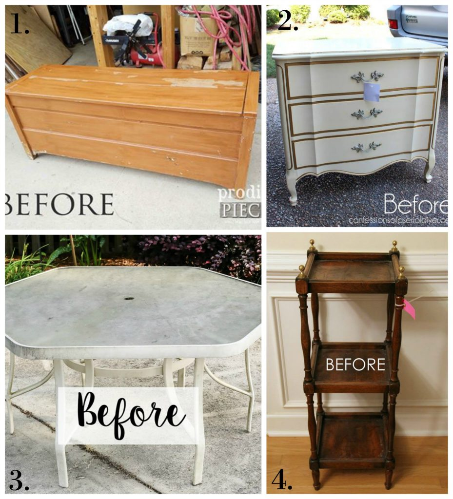Trash to Treasure Makeovers - July 2017