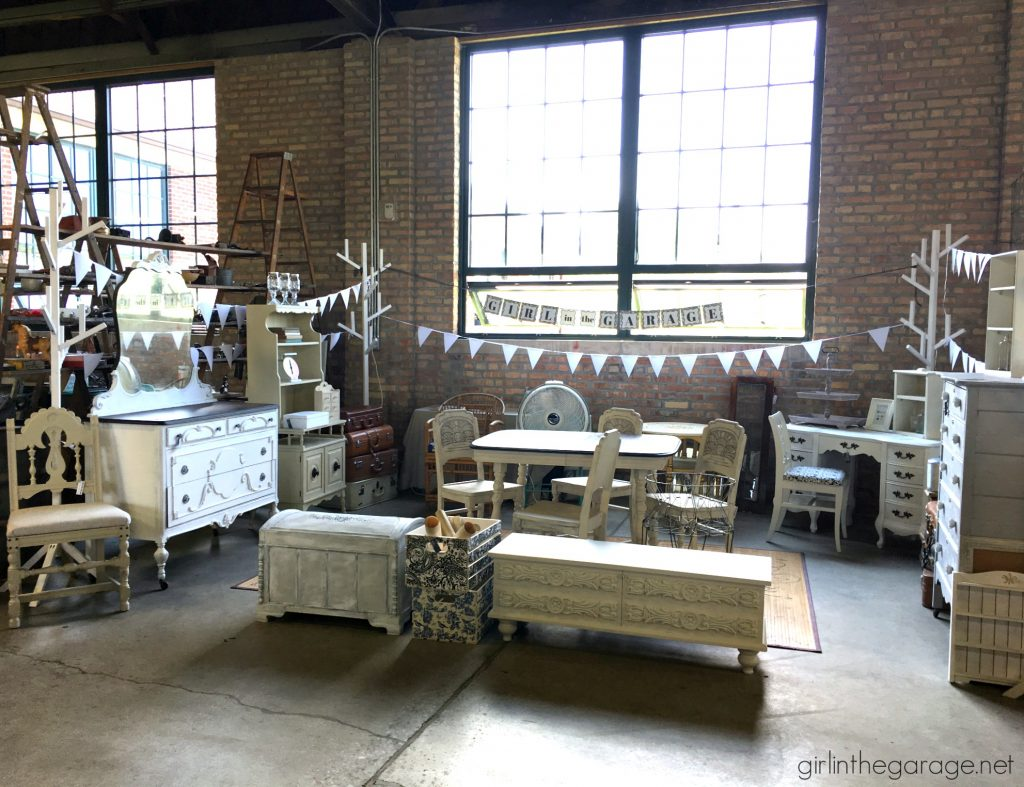 Vintage Market Recap and Photos - Girl in the Garage