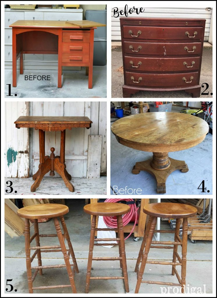 Furniture Fixer Uppers - August 2017
