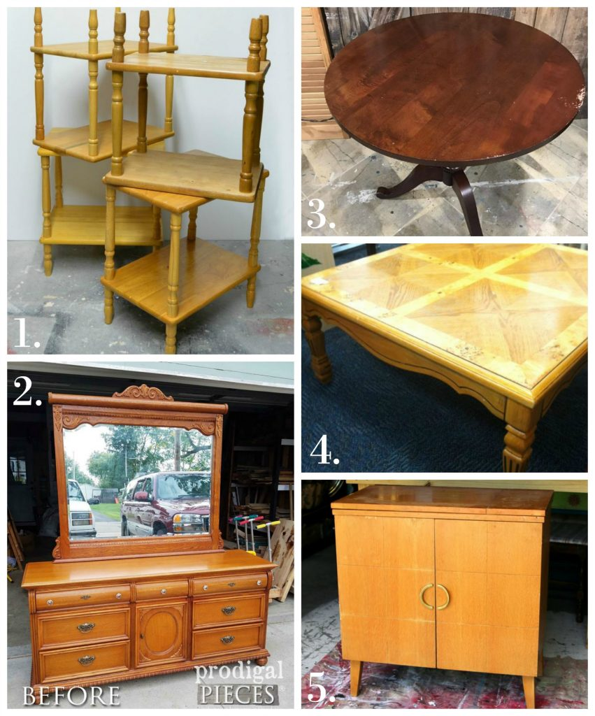 Furniture Fixer Uppers - Sept 17