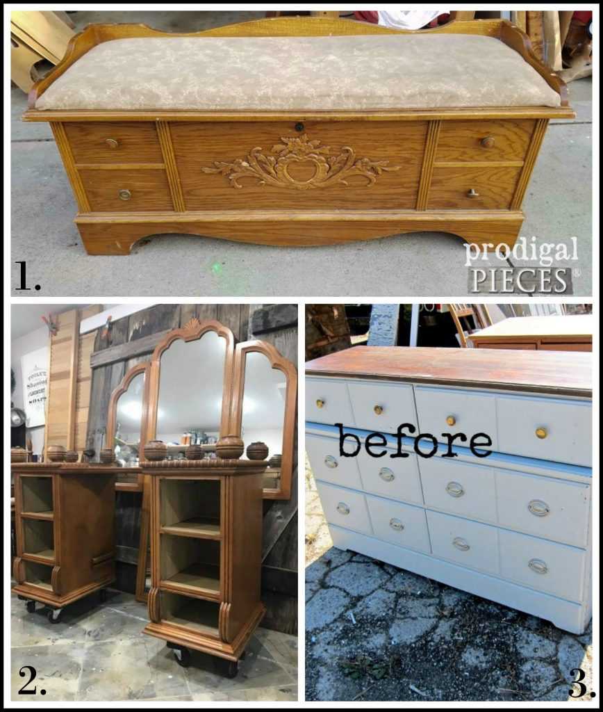 Furniture Fixer Uppers - October 2017